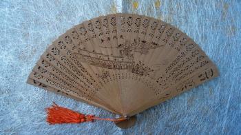 Wooden Fan: Print