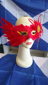 Masque: Feather Detail 5