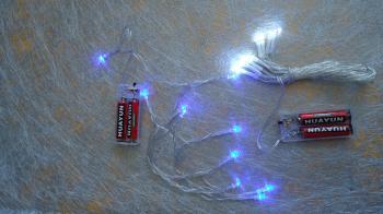 LED Lights 2m: Blue
