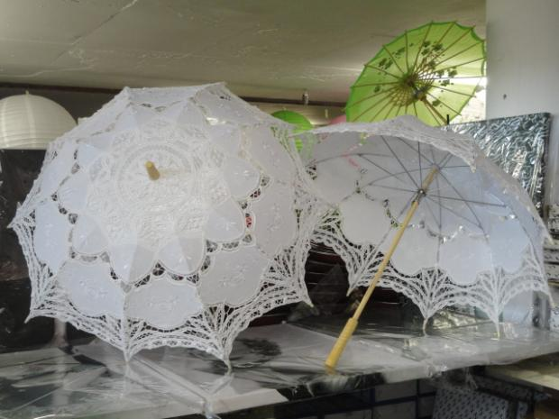 Hand-made Lace Parasol