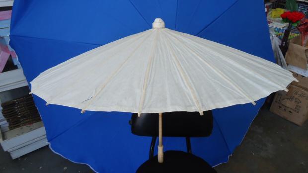 Paper Parasol - Plain White