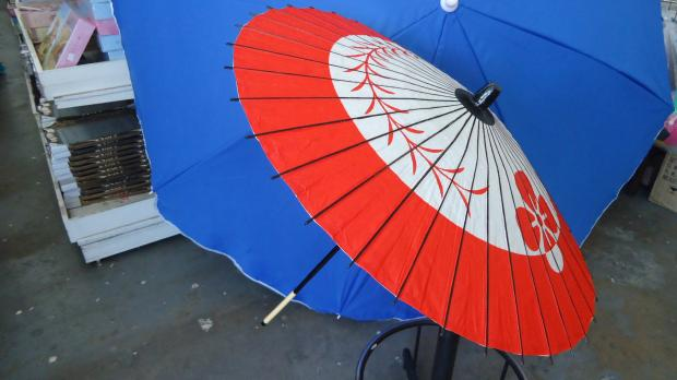 Paper Parasol - Colour with printings