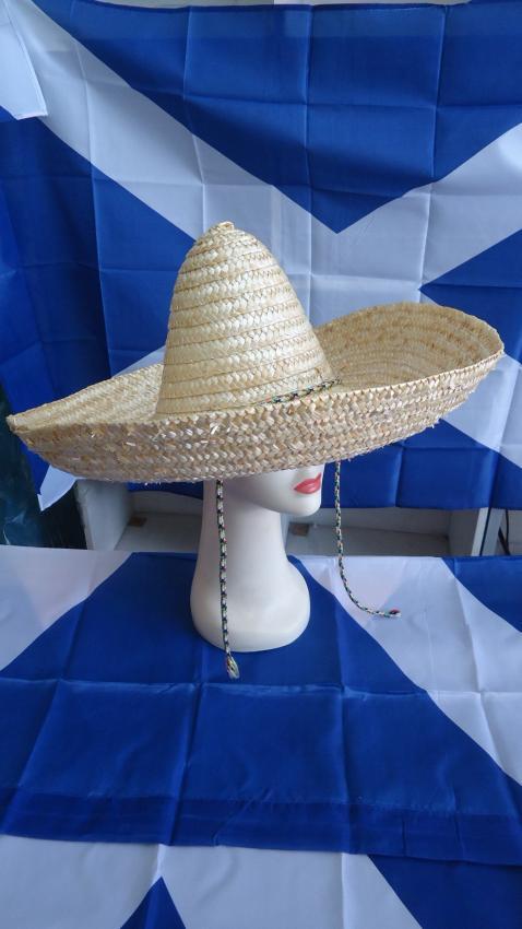 Mexican Straw Hat: 80cm
