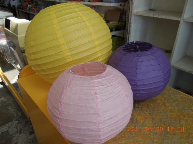 Color Paper Lantern