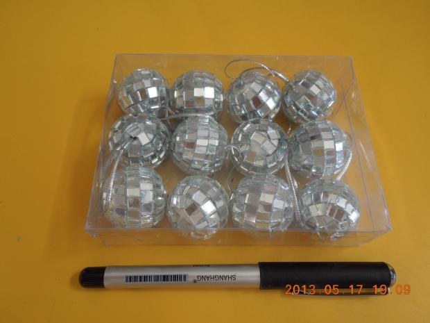 Mirror Balls 3cm,12pcs