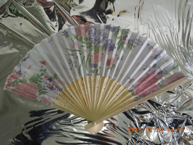 Fabric Fan with printings