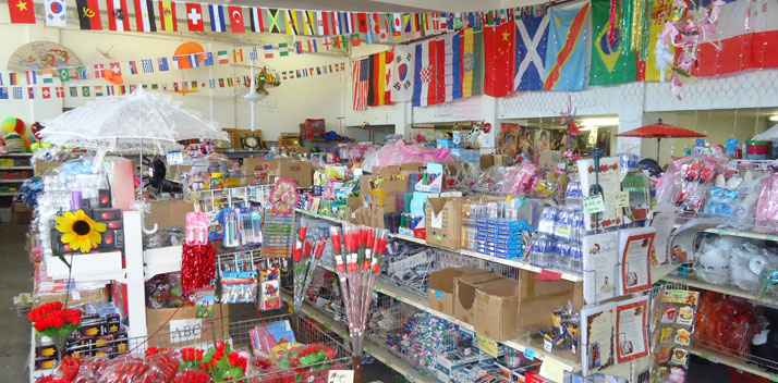 ABC Wholesalers - Party items, gifts, decor and novelties at wholesale prices!